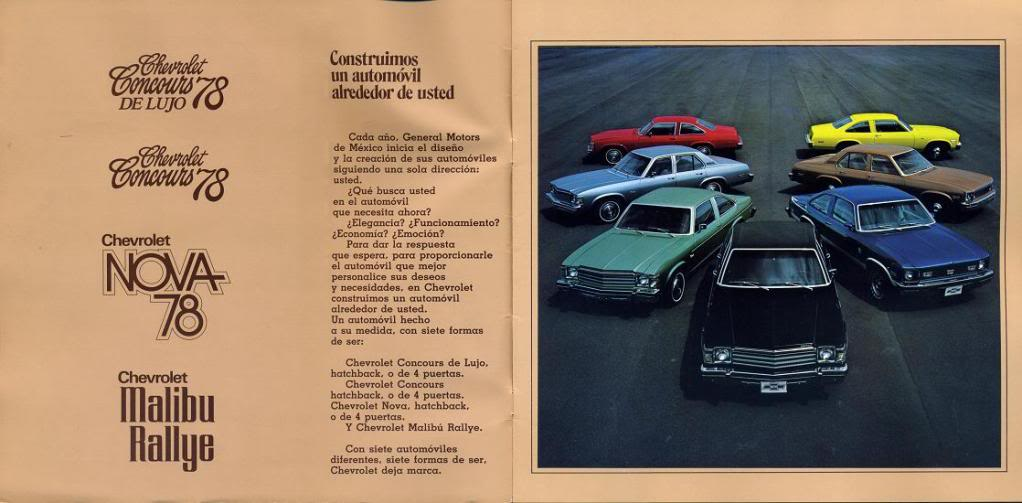 Image of the spanish Chevrolet advertisement