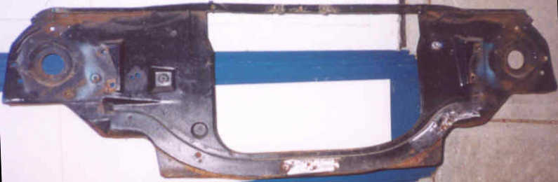Nova Big Block Radiator Support front