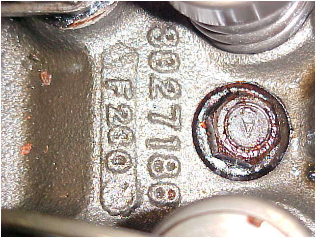 1970 Original LT1 Engine cylinder head casting number