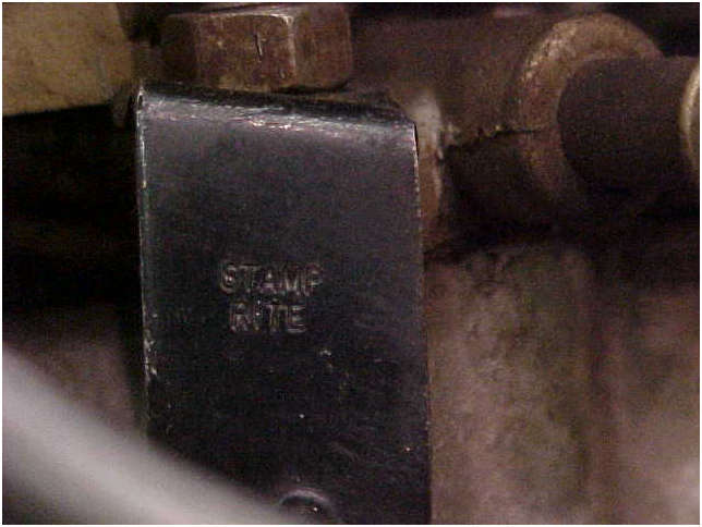 1970 Original LT1 Engine fuel line bracket