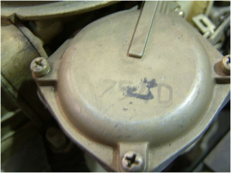 1970 Original LT1 Engine carb stamping