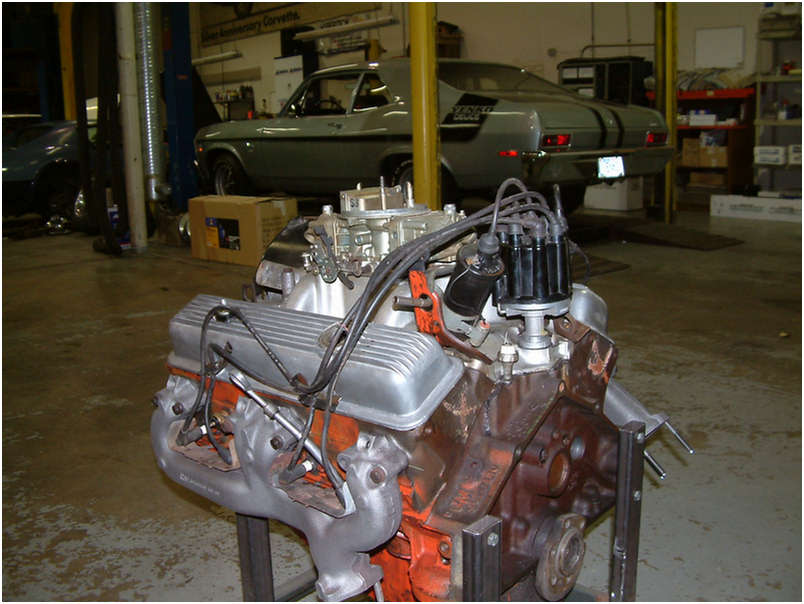 1970 Original LT1 Engine driver side