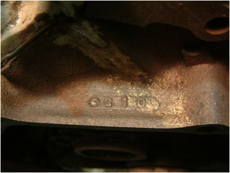 1970 Original LT1 Engine date code
