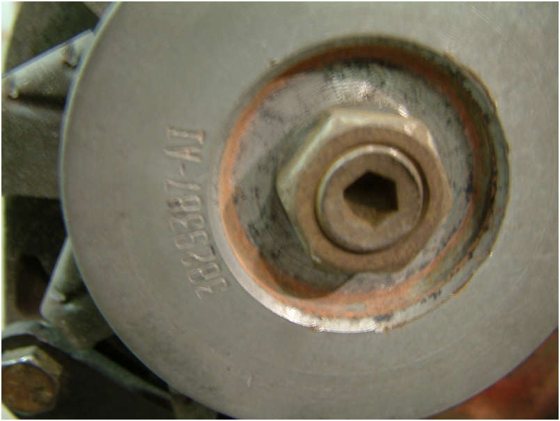1970 Original LT1 Engine alternator pulley